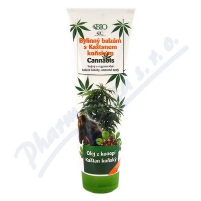 CANNABIS bylinn� balz�m s ka�tanem ko�sk�m 300ml