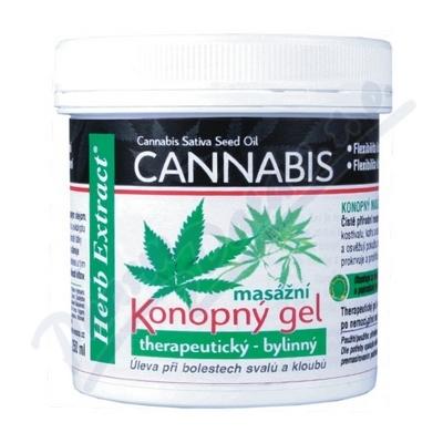 Herb Extract Cannabis Konopn� mas�n� gel 250 ml