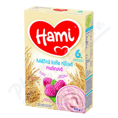 Zobrazit detail - Hami kaše ml. rýžová malinová 225g
