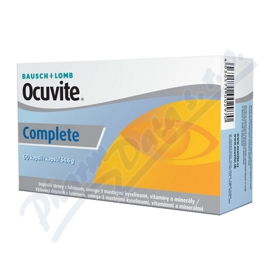 Zobrazit detail - Ocuvite COMPLETE cps. 60