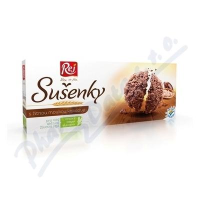 Zobrazit detail - Sušenky kakaové s žitnou moukou 120g