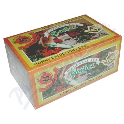 Zobrazit detail - HERBEX Žaludeční hořký čaj 20x3g nálev. sáčky