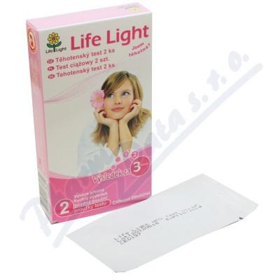 Zobrazit detail - Těhotenský test Life Light 2ks