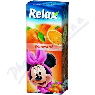 Zobrazit detail - Relax pomeranč 0. 2 litru