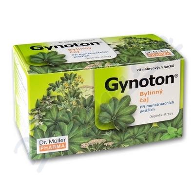 Zobrazit detail - Gynoton bylinný čaj při menstruač. potížích 20x1. 5g