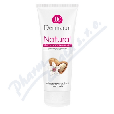 Zobrazit detail - Dermacol Natural výživný mandlový kr. na ruce 100ml
