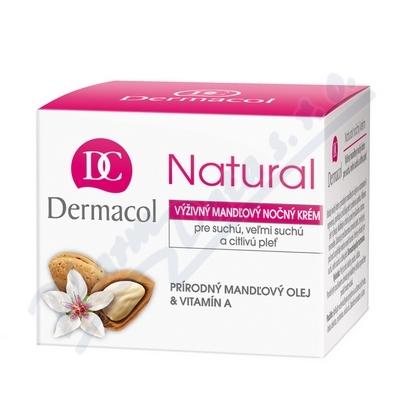 Dermacol Natural V�ivn� mandlov� no�n� kr�m 50ml