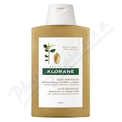 Zobrazit detail - KLORANE Dattier shamp 200ml-šamp. suché pošk. vlasy
