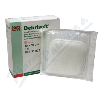 Zobrazit detail - Krytí pro čištění rány Debrisoft steril 5ks
