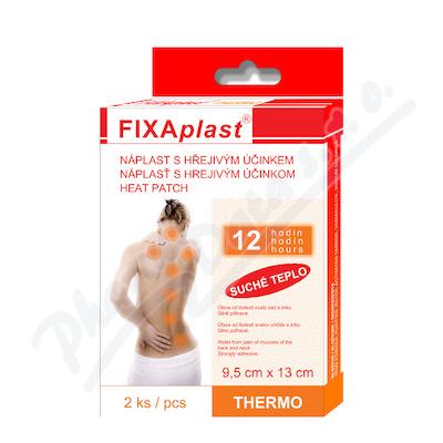 Zobrazit detail - Hřejivá náplast Fixaplast THERMO 9. 5x13cm 2ks