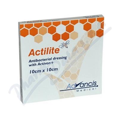 Zobrazit detail - Actilite 10x10cm krytí antimikrob. s medem 10ks