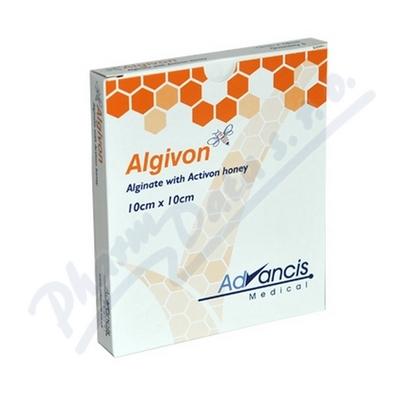 Algivon 10x10cm krytí alginát.antimikrob. 5ks