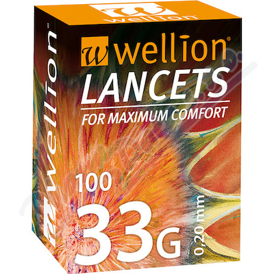Lancety Wellion 100ks - 33G