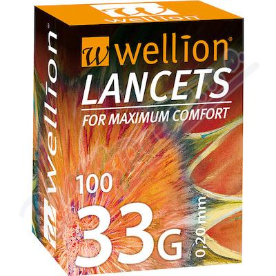 Zobrazit detail - Lancety Wellion 100ks - 33G
