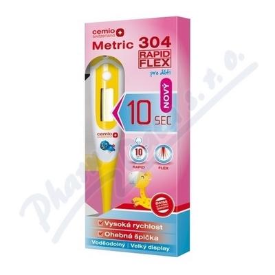 Zobrazit detail - Cemio Metric 304 Rapid Flex Teploměr digit. dětský