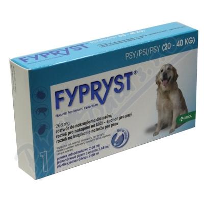 Zobrazit detail - Fypryst Dogs 1x2. 68ml spot-on pro psy