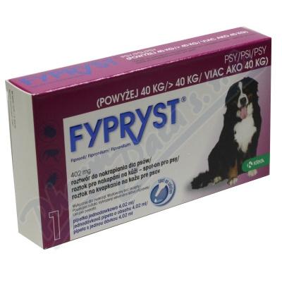 Zobrazit detail - Fypryst Dogs 1x4. 02ml spot-on pro psy