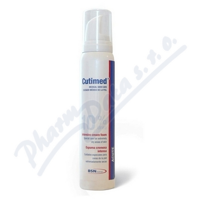 Zobrazit detail - Cutimed Acute ochranná pěna s 10% ureou 125ml