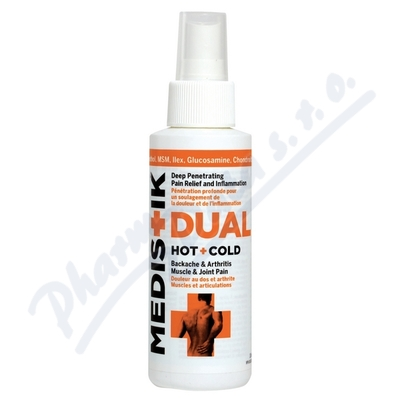 Zobrazit detail - Medistik DUAL spray na svaly a klouby 118ml