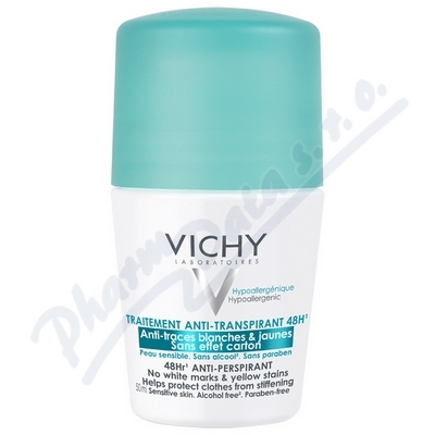 Zobrazit detail - VICHY DEO roll-on Anti traces INT 50ml
