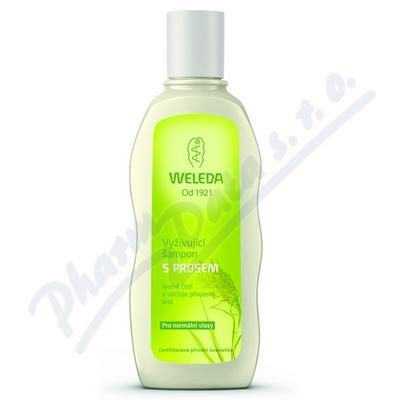 WELEDA Vyživující šampon s prosem 190ml