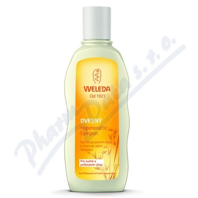 Zobrazit detail - WELEDA Ovesný regen.  šampon suché pošk. vlasy 190ml