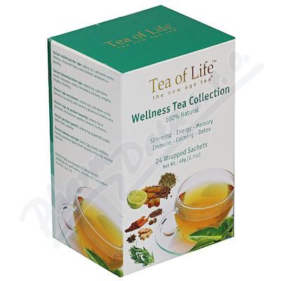 Zobrazit detail - Tea of Life Wellness Tea 6 druhů n. s. 24x1. 5g