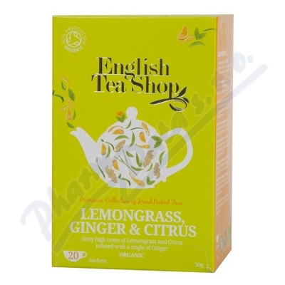 Zobrazit detail - English Tea Shop Bio Citr. Tr�va Z�zvor Citrus 20s.