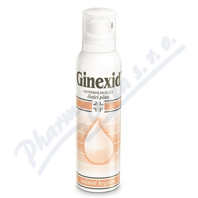 Zobrazit detail - GINEXID gynekologická čisticí pěna 150 ml
