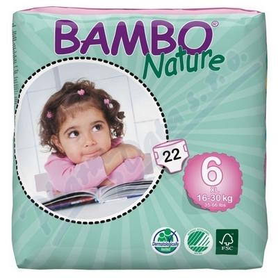 Zobrazit detail - BAMBO Nature XL plen. k.  16-30kg 22ks