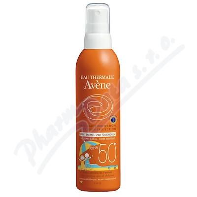 Zobrazit detail - AVENE Spray 50+ enf 200ml-opal.  sprej pro děti 50+