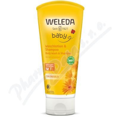 Zobrazit detail - WELEDA Měsíčkový dětský šampón 200ml