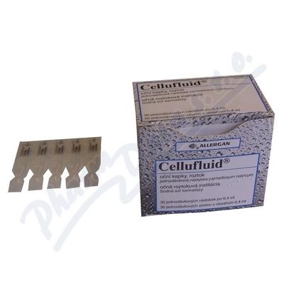 Zobrazit detail - Cellufluid oph. gtt. sol. 30x0. 4ml-2mg