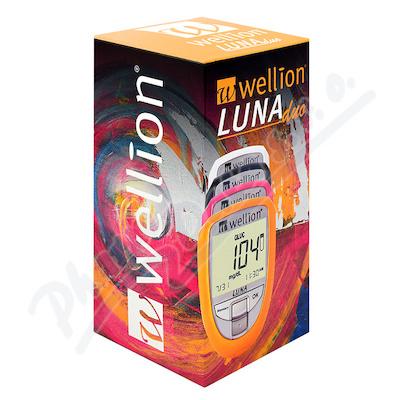 Glukometr Wellion LUNA DUO set růžový