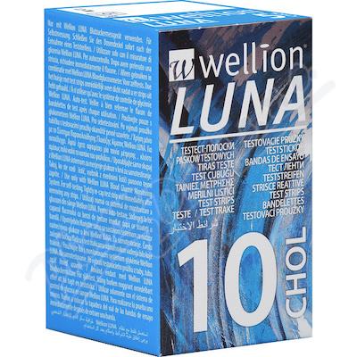 Zobrazit detail - Testovací proužky Luna cholesterol 10 ks