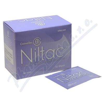 Zobrazit detail - Odstraňovač medic. adheziv NILTAC ubrousky 30 ks