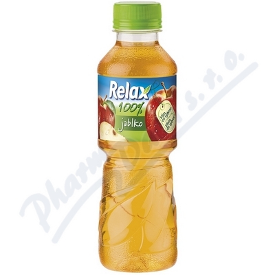 Zobrazit detail - RELAX 100% jablko 0. 3l PET