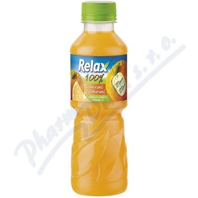 Zobrazit detail - RELAX 100% pomeranč 0. 3l PET