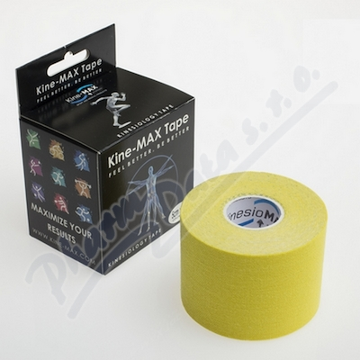Zobrazit detail - KineMAX Classic kinesiology tape �lut� 5cmx5m