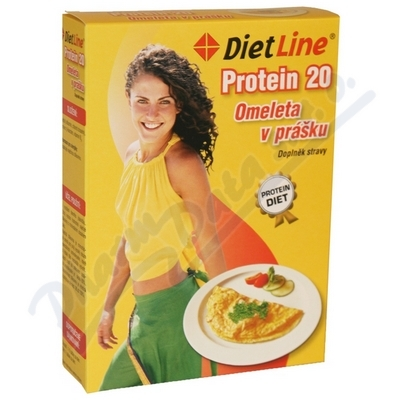 Zobrazit detail - DietLine Protein 20 Omeleta v prášku 3 sáčky