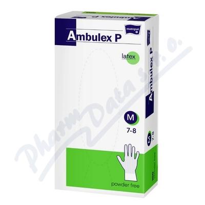 Zobrazit detail - Ambulex P rukavice latexové nepudrované M 100ks