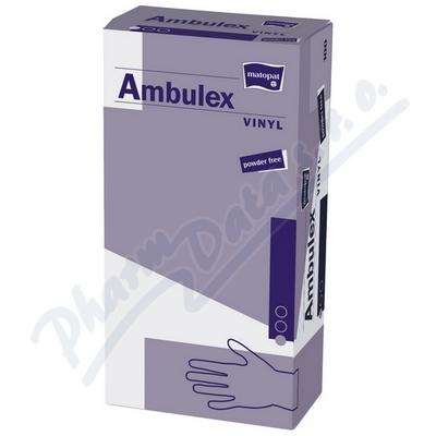 Zobrazit detail - Ambulex Vinyl rukavice vinyl. nepudrované M 100ks
