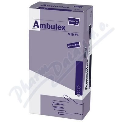 Zobrazit detail - Ambulex Vinyl rukavice vinyl. nepudrované L 100ks