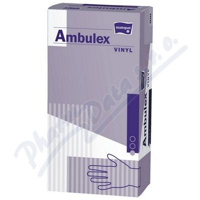 Zobrazit detail - Ambulex Vinyl rukavice vinylové pudrované M 100ks