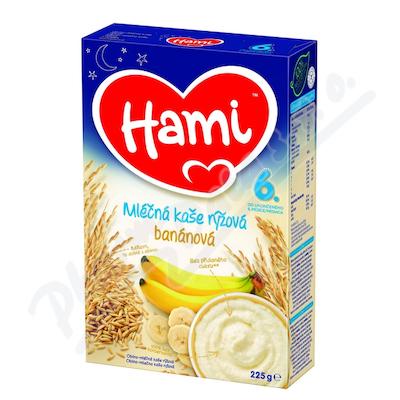 Zobrazit detail - Hami kaše ml. rýžová banánová DN 225g 6M