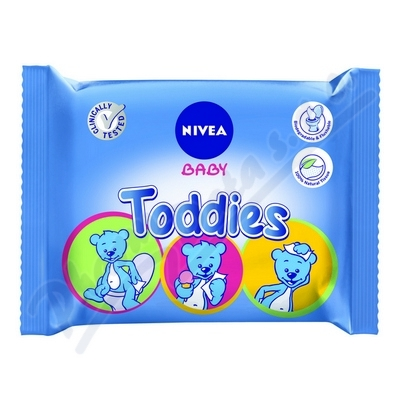 NIVEA Baby Multi ubrousky Toddies 60ks
