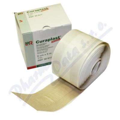 Náplast Curaplast rychloobvaz role 6cm x 5m-1ks