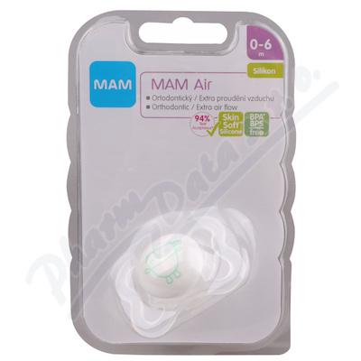 MAM Dudl�k Air Mini 0-6 m�s�c� silikon 1ks
