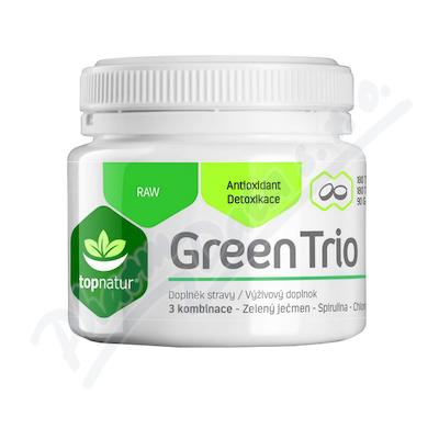 Green Trio Topnatur Chlor.Spirul.Z.je�men tbl.180