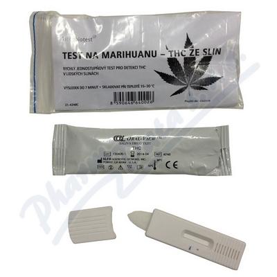 Test na marihuanu - THC ze slin 1ks
